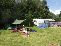 Camp Javořice - pohoda pod stanem