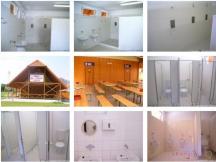 Soc. zařízení kemp