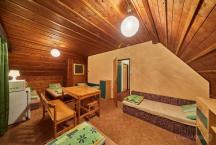 Finská chata - interiér