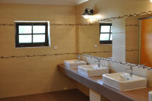 nove sanitární zařízení